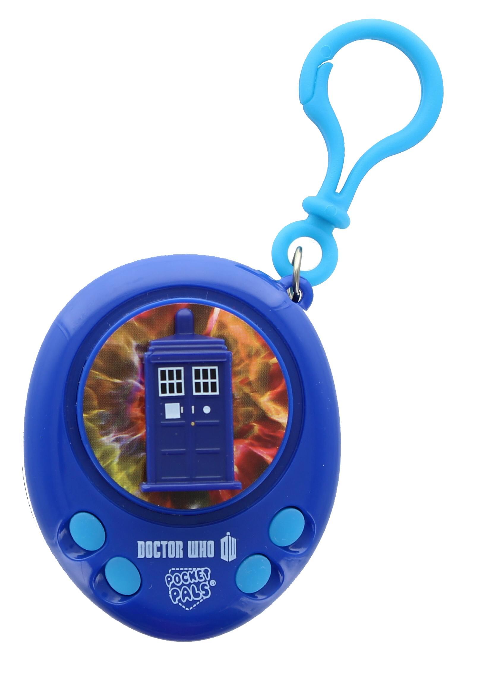 Doctor Who TARDIS Pocket Pal Talking Clip On Key Ring