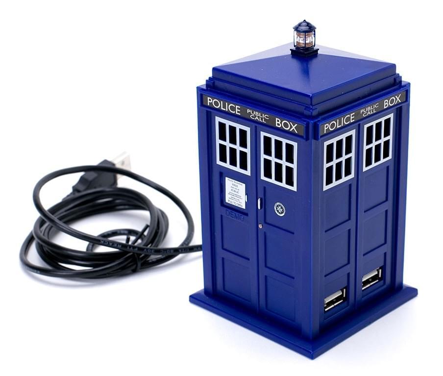 Doctor Who 11th Doctor Tardis 4 Port USB Hub