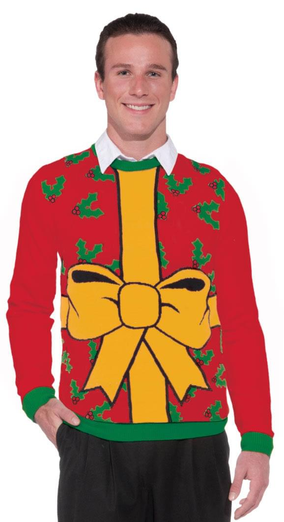 Ugly Christmas Gift Adult Sweater X-Large