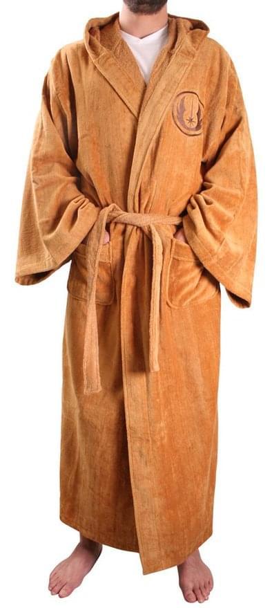 Star Wars Jedi Master Men's Hooded Bathrobe