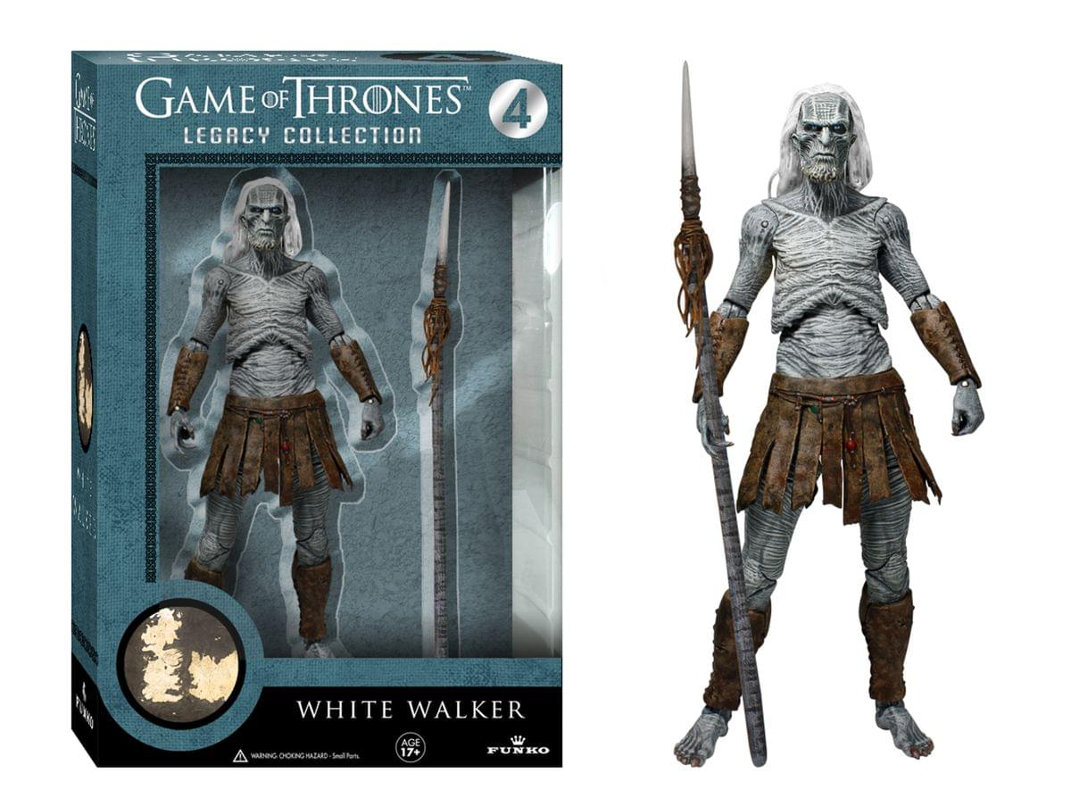 Game Of Thrones Funko Legacy Action Figure White Walker