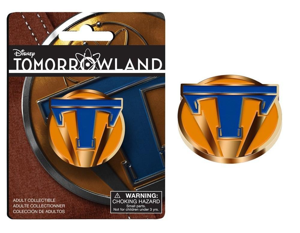 Disney's Tomorrowland Metal Lapel Pin Style 1