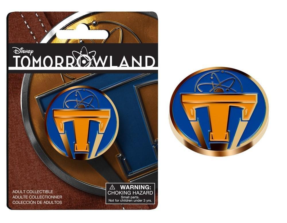 Disney's Tomorrowland Metal Lapel Pin Style 2