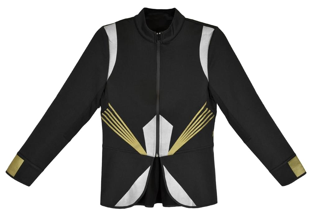 The Hunger Games Catching Fire Female Training Jacket Adult Medium