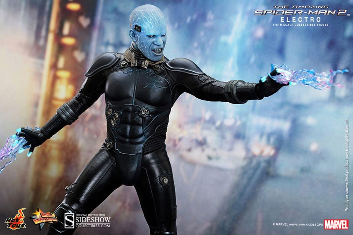 "12/"" Item 902207 Electro Figure from Spiderman 2 Hot Toys Sideshow   IN STOCK"