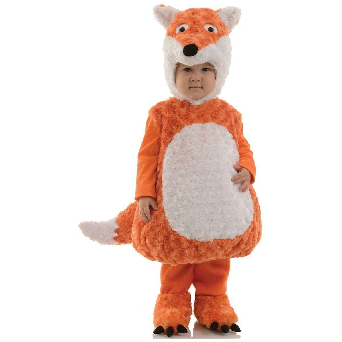 Belly Babies Plush Fox Toddler Costume X-Large 4-7