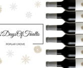 #12DaysOfTrialto - Food and Wine Pairing Featuring Poplar Grove Cabernet Franc
