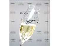 Champagne Flute & James Bond Spectre