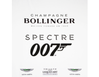 Trialto's Liquid Art Selections Presents Champagne Bollinger and James Bond Spectre