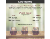 Pinot Tasting AB - Save the Date