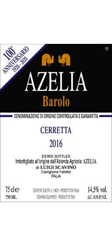 AZELIA - Barolo Cerretta - 2016