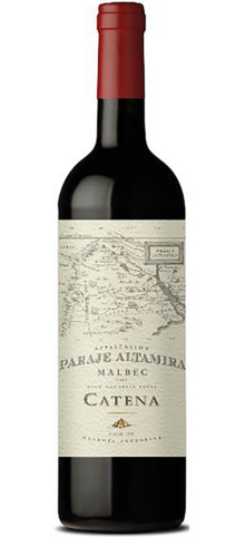 CATENA - Appellation Paraje Altamira Malbec - 2014