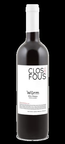 CLOS DES FOUS - Cabernet Sauvignon Würm - 2012