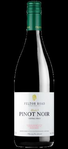 FELTON ROAD - Pinot Noir Block 5 - 2016