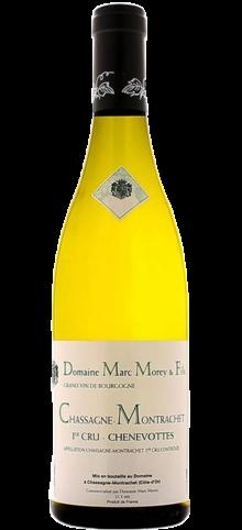 MARC MOREY - Chassagne-Montrachet 1er cru Les Chenevottes - 2015