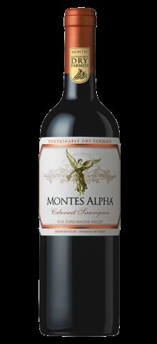 MONTES - Alpha Cabernet Sauvignon - 2015
