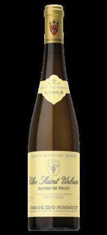 ZIND-HUMBRECHT - Pinot Gris Grand Cru Rangen de Thann Clos-Saint-Urbain - 2015
