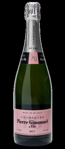 Champagne Brut Rosé de Blanc 1er cru