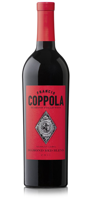 2015 FRANCIS FORD COPPOLA Diamond Collection Scarlet Red Blend