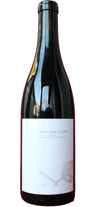 2015 ANTHILL FARMS Syrah Campbell Ranch