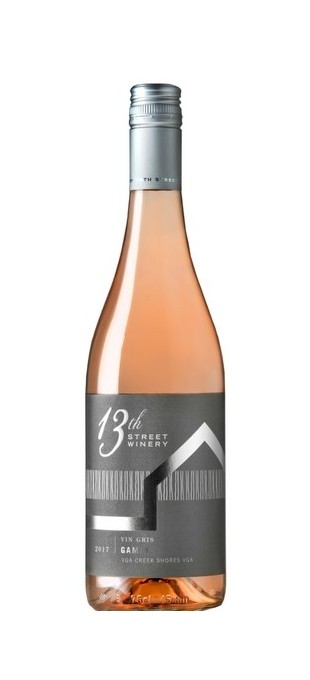 2017 13TH STREET WINERY Gamay Vin Gris