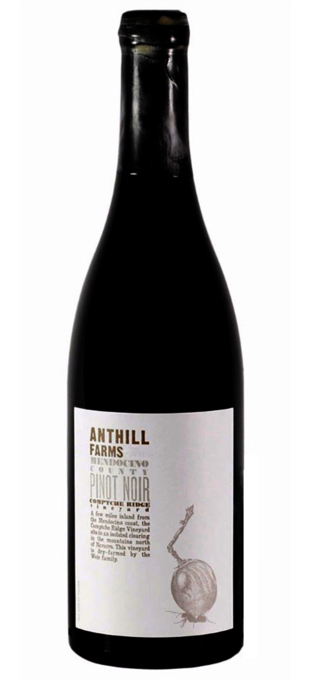 2015 ANTHILL FARMS Pinot Noir Comptche Ridge