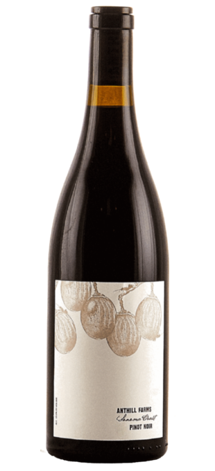 2016 ANTHILL FARMS Pinot Noir Sonoma Coast