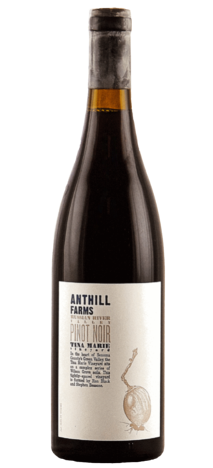 2012 ANTHILL FARMS Pinot Noir Tina Marie Vineyard