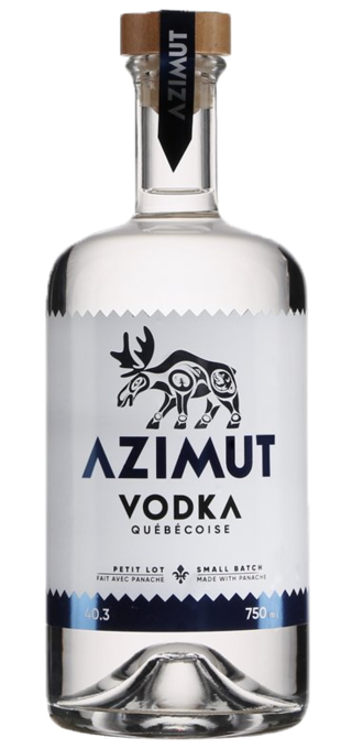 0 DISTILLERIE MARIANA Azimut Vodka