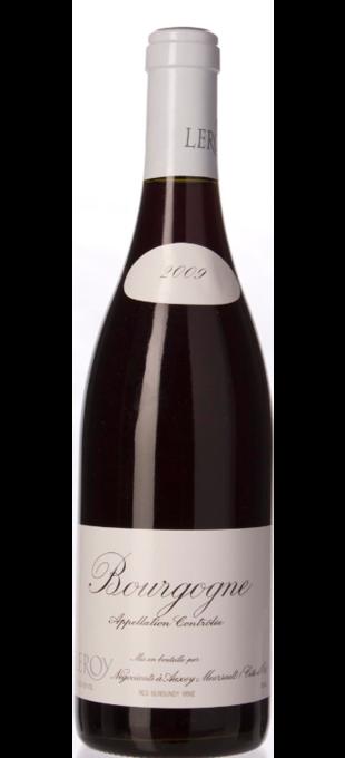 2009 DOMAINE LEROY Bourgogne rouge