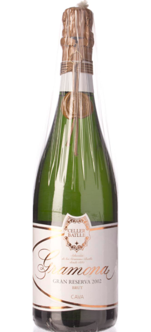 2004 GRAMONA Celler Battle Gran Reserva Brut