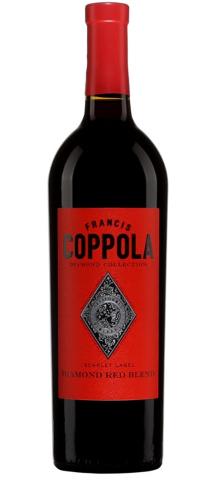 2016 FRANCIS FORD COPPOLA Diamond Collection Scarlet Red Blend