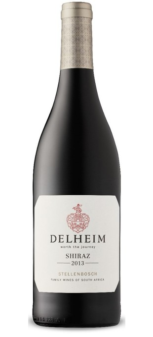 2015 DELHEIM WINES Delheim Shiraz