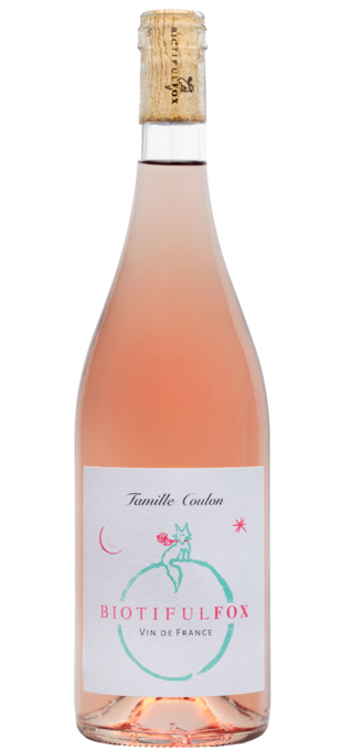 2017 DOMAINE DE BEAURENARD Biotiful Fox Dry Rosé
