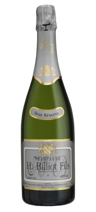 0 HENRI BILLIOT Grand Cru Brut Réserve