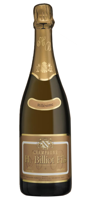 2012 HENRI BILLIOT Grand Cru Brut Millésime