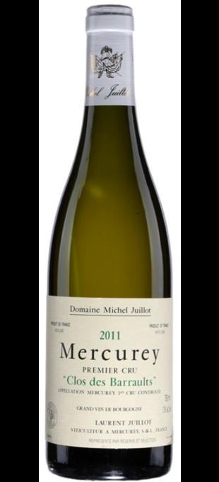 2016 DOMAINE MICHEL JUILLOT Mercurey 1er cru Clos des Barraults