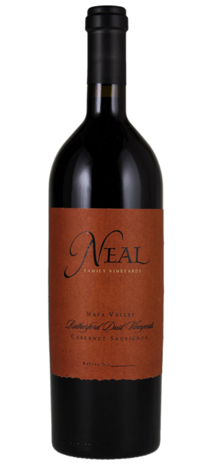 2007 NEAL FAMILY VINEYARDS Cabernet Sauvignon Rutherford Dust