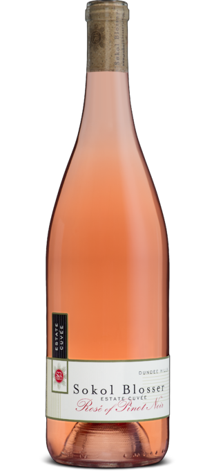 2017 SOKOL BLOSSER Estate Rosé of Pinot Noir