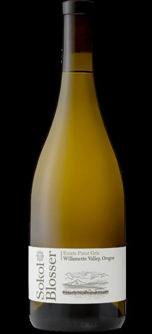 2018 SOKOL BLOSSER Willamette Valley Estate Pinot Gris