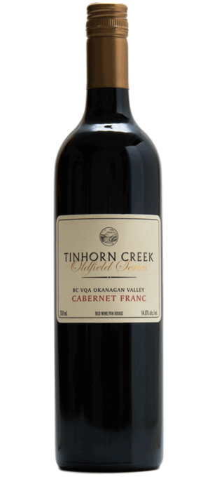 2012 TINHORN CREEK Oldfield Series Cabernet Franc