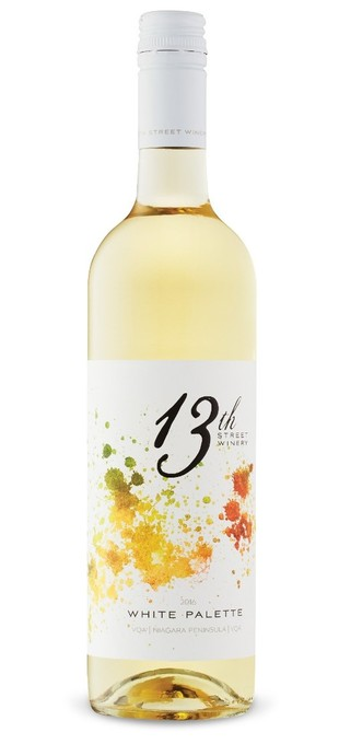 2016 13TH STREET WINERY White Palette