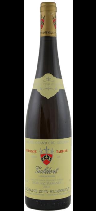 2013 ZIND-HUMBRECHT Gewurztraminer Alsace Grand Cru Goldert Sélections de grains nobles
