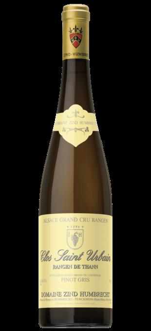 0 ZIND-HUMBRECHT Pinot Gris Alsace Grand Cru Rangen de Thann Clos Saint-Urbain (mix 2010/2012)