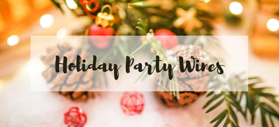 holiday party wines