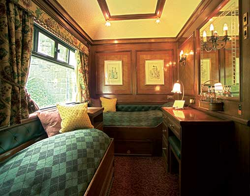 The Royal Scotsman Cabin