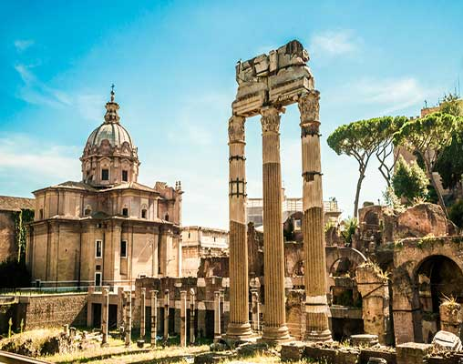 Ruins of the Roman Forum, Rome