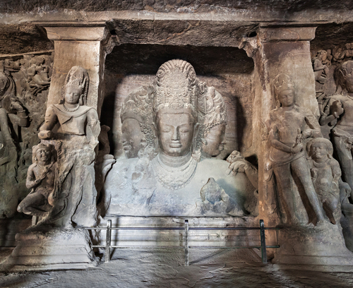 Caves at Elephanta Island