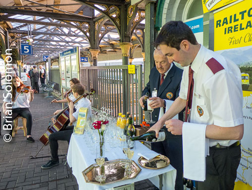Champagne at the Station - (c)Brian Solomon