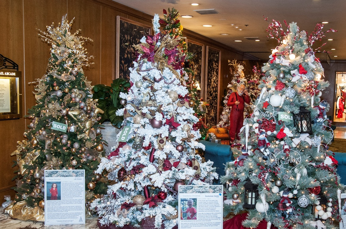 Festival of Trees Fairmont Olympic Seattle